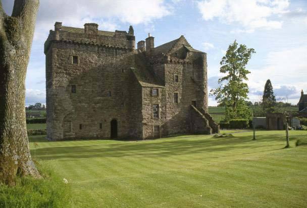 Huntingtower Castle - (c) historic-scotland.gov.uk