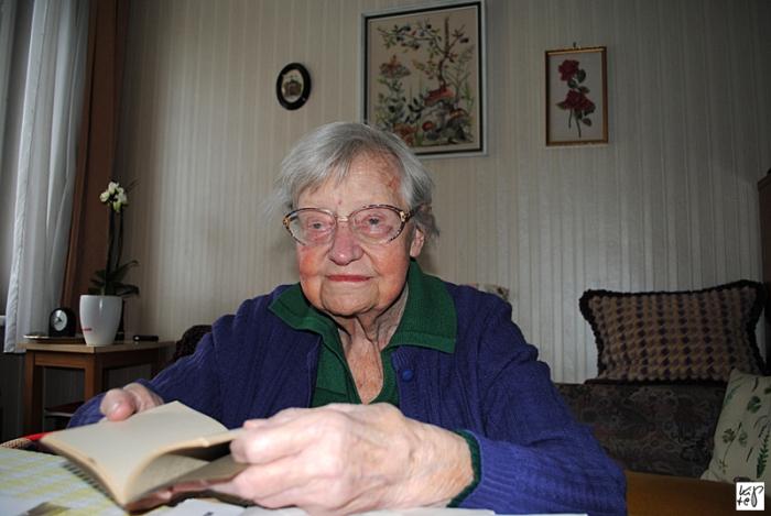 Edith Spandl kramt in ihren Erinnerungen…
