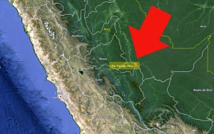 Rio Tambo in Peru (c) google-earth