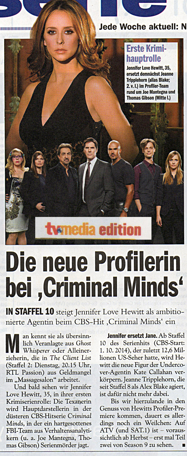 (c) TV Media 29/2014