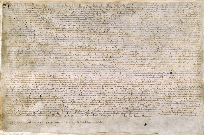 Magna Carta von 1215   © British Library