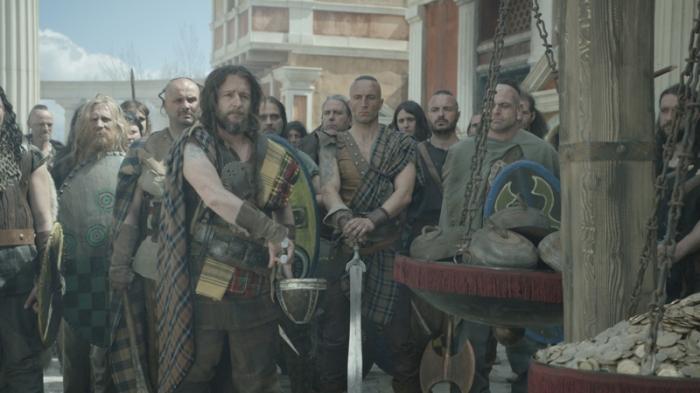 Die Kelten nehmen Rom ein und fordern ein fürstliches Lösegeld. © ZDF | Martin Christ