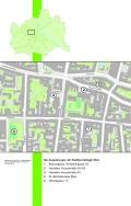 Überblicksplan über die Grabungen in Hernals | © Stadtarchäologie Wien