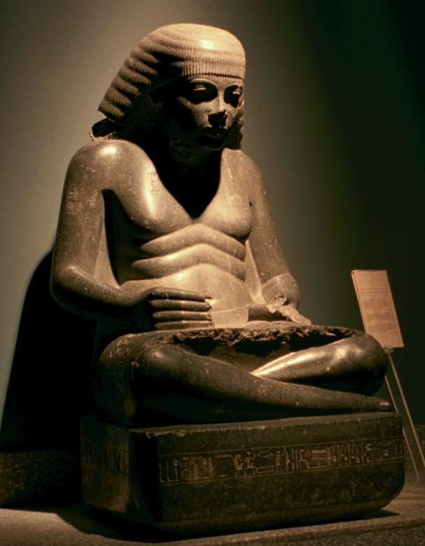 Altägyptischer Schreiber | (c) https://commons.wikimedia.org